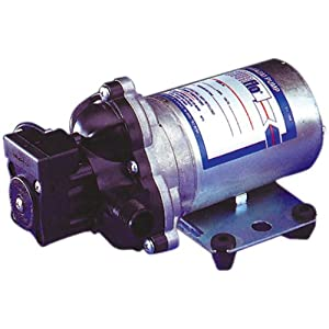 SHURflo Fresh Water Industrial Pump 115V AC 198 GPH RV 45 psi 2088-594-154