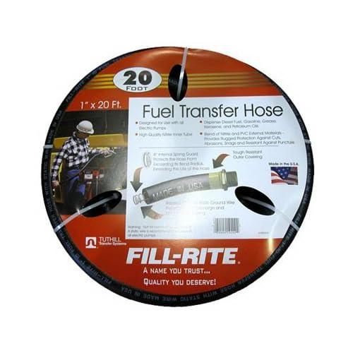 Tuthill Corp FRH10020 Fill Rite Fuel Transfer Pump Hose 1x20