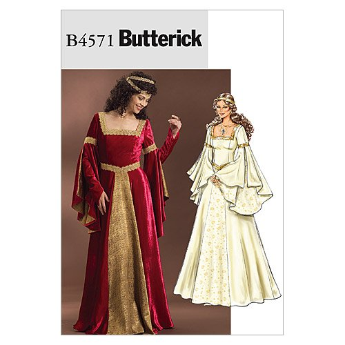 Find Bargain Butterick Patterns B4571 Misses' Costume, Size EE (14-16-18-20)