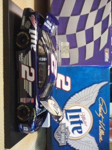 Rusty Wallace #2 Miller Lite Harley Davidson Edition 1999 Taurus by Action Racing Collectables