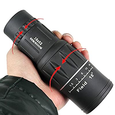 YINGNEW High Power 16X 52MM Monocular Telescope For Bird Watching Hunting Camping Hiking with Super Clear and Sharp Image from YINGNEW