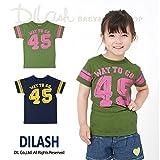 (ディラッシュ) DILASH盛夏'16/「45」アメカジ半袖Tシャツ 140 カーキ
