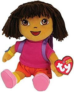 Ty Beanie Baby Dora The Explorer from Ty