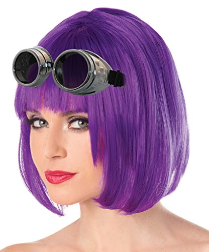 Costume Adventure Chrome Steampunk Goggles Cosplay Costume Goggles Prop