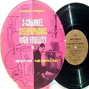 Jonathan Winters : Motorola Presents 3- Channell Stereo High Fidelity LP