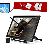 "Ugee 19"" Graphics Drawing Pen Tablet Monitor with Screen Protector and Pergear Clean Kit"