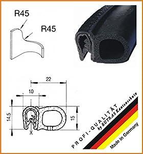Dichtungsprofil KSD2053 (ab 3,99 EUR/ m) Kantenschutz Dichtprofil Gummidichtung Länge 20 m  BaumarktKundenbewertung und weitere Informationen