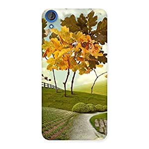 Ajay Enterprises Painted Beautifull Way Back Case Cover for HTC Desire 820s