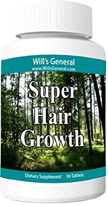 Hair Growth Vitamins ! ? Supports Hair Growth ? Stimulate Vibrant and Healthy Hair Production! 100% Natural, Hair Growth Pills ! Natural Thicker, Longer, Vibrant Hair!! Nutrient Rich Formula - PROMOTIONAL PRICE!