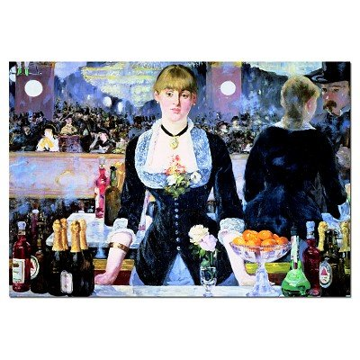 Picture of Educa A Bar At The Folies-Bergeres, Manet Jigsaw Puzzle 1000pc (B000MRMF7M) (Jigsaw Puzzles)