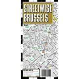 Streetwise Brussels Map - Laminated City Street Map of Brussels, Belgium: Folding Pocket Size Travel Map