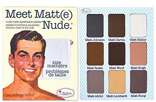 theBalm Meet Matt Trimony Eyeshadow Palette