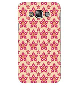 PrintDhaba Pattern D-5254 Back Case Cover for SAMSUNG GALAXY A7 (Multi-Coloured)