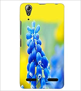 PrintDhaba Flowers D-2113 Back Case Cover for LENOVO A6000 PLUS (Multi-Coloured)