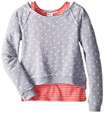 Roxy Girls 7-16 Fall Crush Sweatshirt with Layering Tank