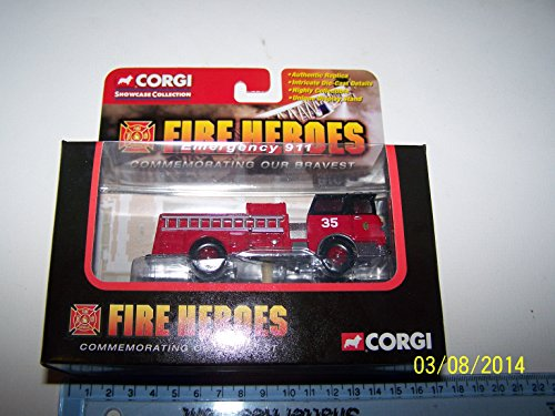 Corgi Fire Heroes Boston Fire Department Mack B Open Pumper