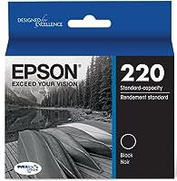 Epson DURABrite Ultra Standard-Capacity Ink Cartridge, Black (T220120) by Epson