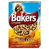 Bakers Complete Chicken & Vegetable Small Breed Adult Dog Food 1kg