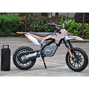 Moto Tec 24v Electric Dirt Bike 500w by Big Toys
