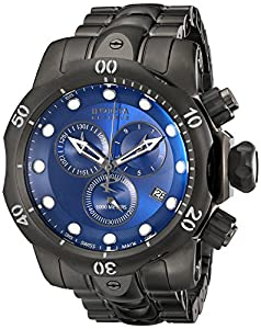 Invicta Men's 5731 Reserve Collection Black and Gunmetal Ion-Plated Chronograph Watch