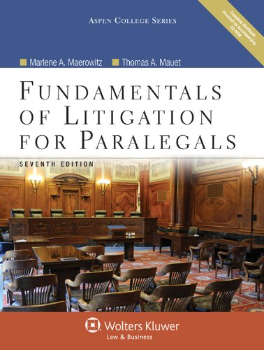 Fundamentals of Litigation for Paralegals, Seventh...
