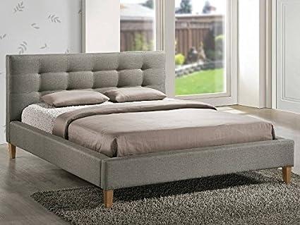 Bett Texas Doppelbett Ehebett 160x200 grau Schlafen Betten