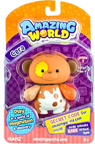 Amazing World Figures Cera Monkey (From the Creators of Webkinz)