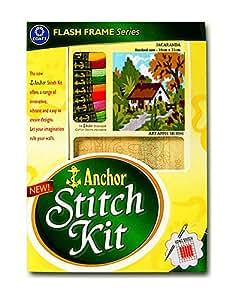 Anchor Stitch Kit Jacaranda