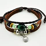 You can selection of high-quality jewelry in the November's Chopin offers grat values at affordable price,the retro trend is still in popularity,to show your distinctive personality,leather bracelet is quite individualized,it's a special gift for a l...