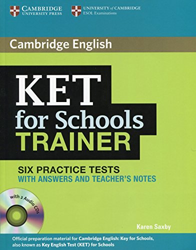 KET for school trainer Practice tests with answers Con CD Audio Per le Scuole superiori PDF