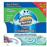 Scrubbing Bubbles Toilet Gel Rain Shower, 1 Dispenser and 12 Gel Stamps ~ Scrubbing Bubbles