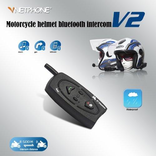 (Usa Fast Shipping) 500M Full Duplex Bluetooth Skiing Helmet Intercom Motorcycle