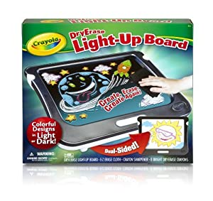 Crayola Dry Erase Light-Up Board Children, Kids, Game