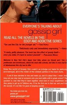 cecily von ziegesar gossip girl books pdf