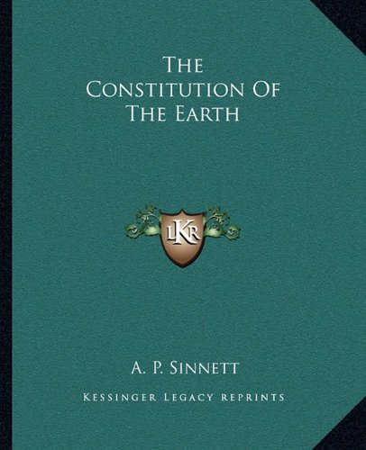 The Constitution of the Earth