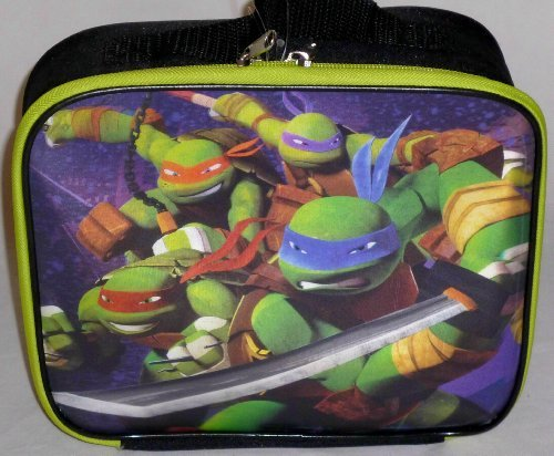 Teenage Mutant Ninja Turtle 3D FX Insulated Soft Lunch Box Bag - 1