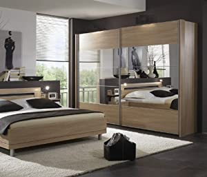 schwebet renschrank virginia eiche spiegel k che haushalt. Black Bedroom Furniture Sets. Home Design Ideas