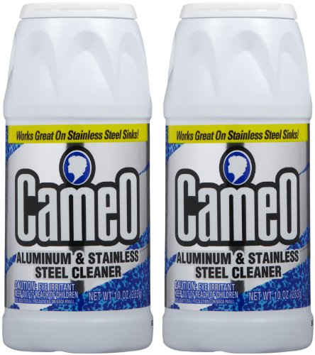 Cameo Aluminum & Stainless Steel Cleaner - 10 oz - 2 pk (Stainless Steel Cleaner Cookware compare prices)