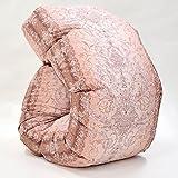 西川 羽毛布団 ホワイト ダック ダウン 90% 日本製 抗菌 防臭 AI938 (シングル:150×210cm, ピンク)
