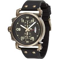 Vestal Men's OBCS001 USS Observer Chrono Black White Lume Watch by Vestal