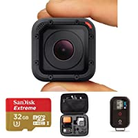 GoPro HERO Session HD Waterproof Action Camera + Wi-Fi Remote + 32GB MicroSDHC Card + Carrying Case