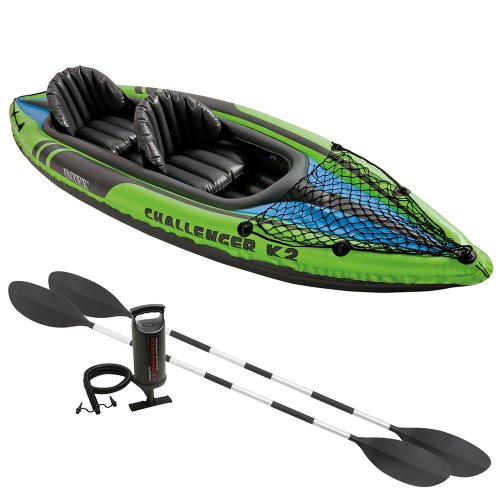 Image result for 100. Intex Challenger K1 Inflatable Kayak