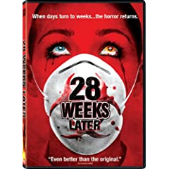 Cover of 28 Weeks Later DVD