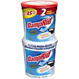 DampRid FG60 Refillable Moisture Absorber, 2-Pack