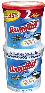 DampRid FG60 Refillable Moisture Abso…
