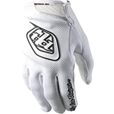 Troy Lee Designs Air Youth Off-Road/Dirt Bike Motorcycle Gloves - White / Large