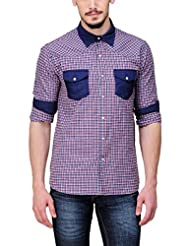 Yepme Men's Checks Cotton Shirt - YPMSHRT0430