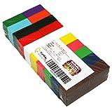 ドミノ 積み木 木製 カラフル 12色 100個 知育 おもちゃ (ギミック・仕掛け 別売り)