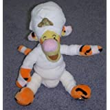 "Retired Disney Winnie The Pooh Egyptian Mummy Tigger 10"" Plush Bean Bag Doll Mint With Tags"