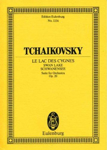 Peter Iljitsch Tschaikowsky: Schwanensee, Edition Eulenburg: Studienpartitur (Noten).